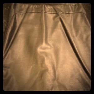 Max Edition Skirts - Max edition faux leather mini skirt